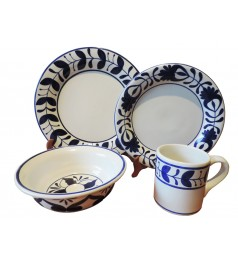 MIL CUMBRES DINNERWARE (16 PIECE SET)