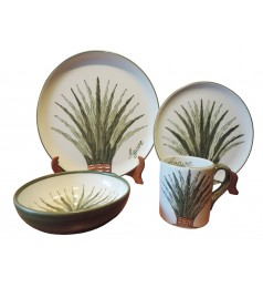 AGAVE DINNERWARE (16 PIECE SET)