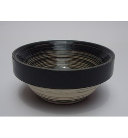 Serpentina B&W Serving Bowl