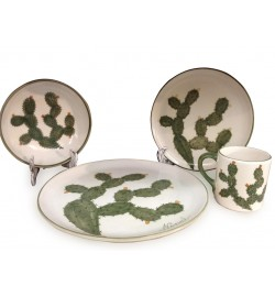 NOPAL DINNERWARE (16 PIECE SET)