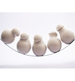 Birds on a Wire  cruet set