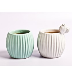 Biznaga Tea & Coffee Mug set